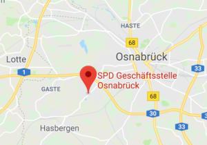 SPD Geschäftsstelle Osnabrück - Google Maps